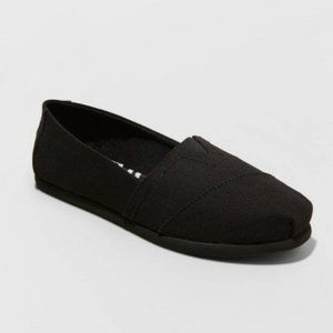 Mad Love Lydia Wide Width Slip-On Canvas Sneakers